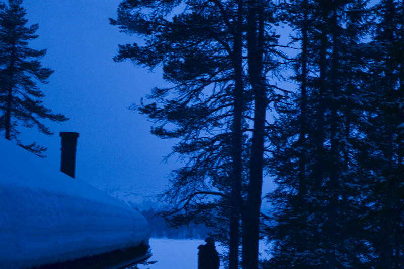 Vinter ved Fønhuskoia