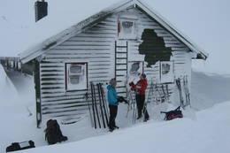 Kaldt på Krossvatn - Foto: Ukjent
