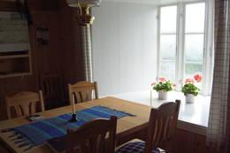 I midtstova er det god plass - Foto: Ingeborg Flaten