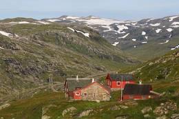 Turen ender i vakker natur ved Hallingskeid. -  Foto: Svein Ulvund