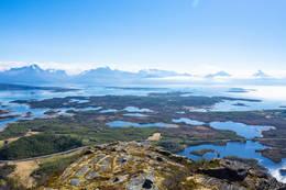 Utsikt mot nordre Steigen - Foto: Kjell Fredriksen