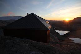 Gjegnabu i solnedgang  - Foto: Arve Idar Utnes