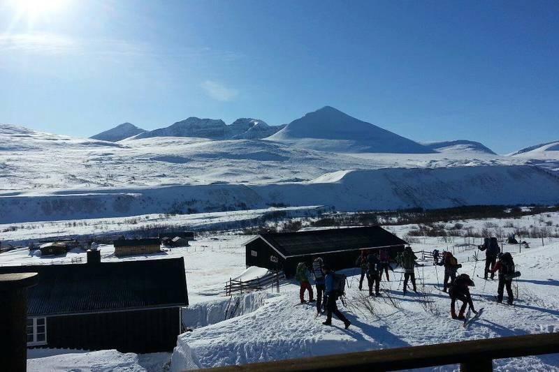 Fin dag ut på ski fra Øvre Dørålseter