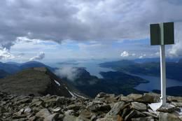 Utsikt fra Blegja - Foto: Gustav Skaar
