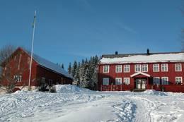 Rønningen i vinterdrakt - Foto: Jonny Remmereit