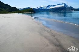 Langsand på Sandhornøya - Foto: Tursiden for Bodø og Salten