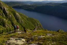 Utsikt mot Totak -  Foto: Olav Hahn