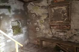 Inne i bunkers - Foto: Kari Raaket