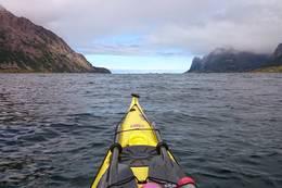 På tur ut Malnesfjorden. -  Foto: Truls Johnsen