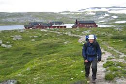 Klar for en ny dag på fantastiske Hardangervidda  - Foto: Heidi Wexels Riser