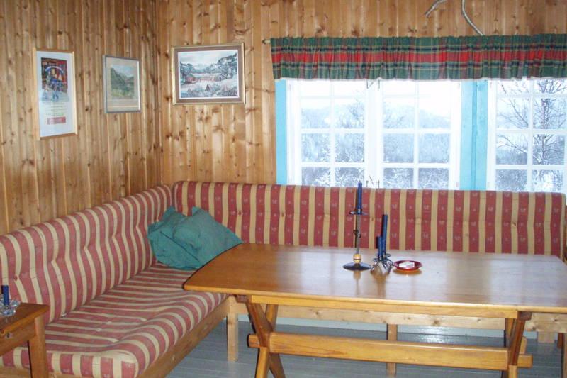Hovstøyl - sofakrok hovedhytte