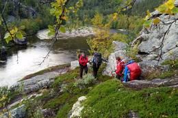 Store deler av turen følger Reisaelva - Foto: Kristin Høidalen