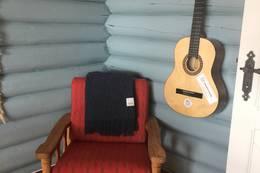 Spill gjerne på gitaren - Foto: