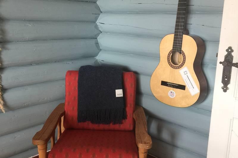 Spill gjerne på gitaren