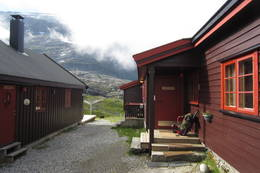 Avreise fra Nørstedalsseter - Foto: Ukjent