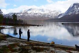 Flott oppe ved 7.vatnet -  Foto: Kjell Fredriksen