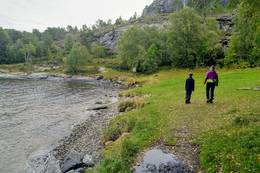 Kolvika friområde - Foto: Harald Atle Oppedal