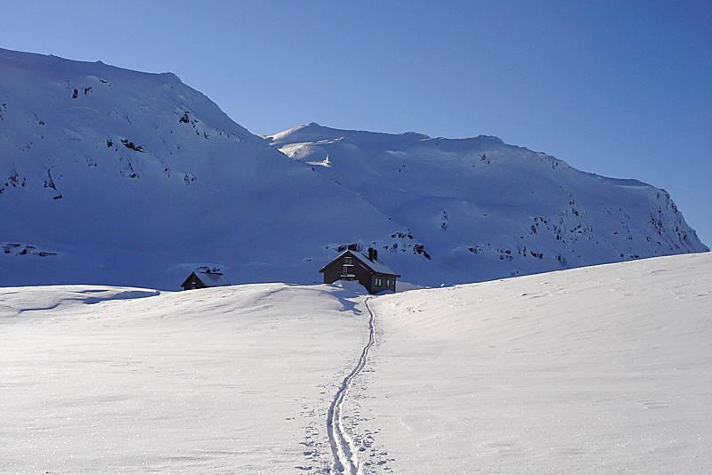 Februar ved Vending og godt skiføre.