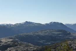 Vigastakken og Bergefjellet i Forsand. - Foto: Bjørn Gisle Lyse