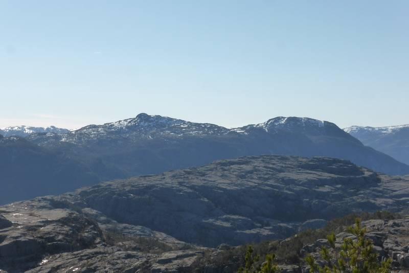Vigastakken og Bergefjellet i Forsand.