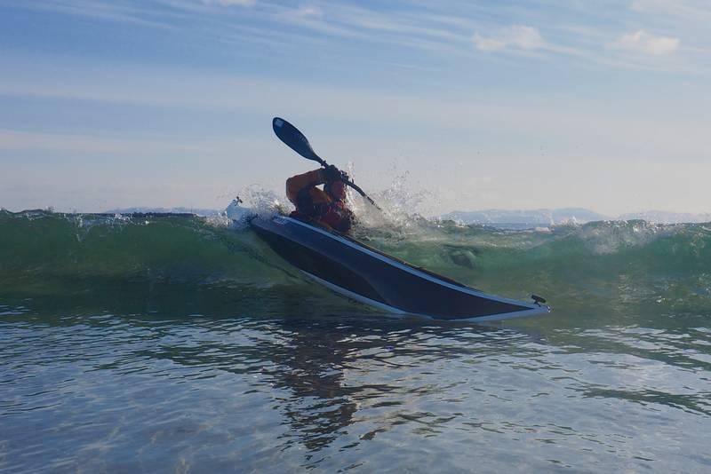 Surfing ved Ekkerøy