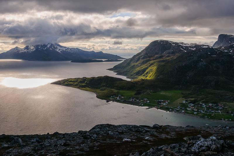 Utsikt mot Vengsøya