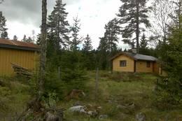 Bergersætra sett fra sti ankomst Bergerseterveien - Foto: Odal Turlag