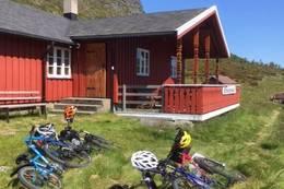 Gode sykkelmuligheter ved Kyrkjestølen -  Foto: Aagot Monsen
