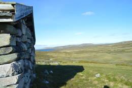 Utsikt mot Skarsvann - Foto: