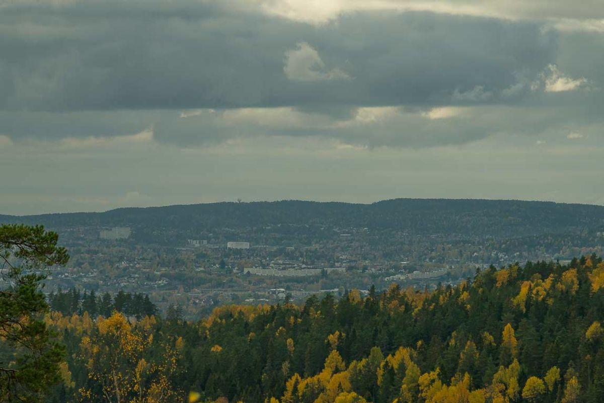Utsikt fra Ausenfjellet