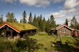 Begge hyttene - Foto: Marius Nergård Pettersen