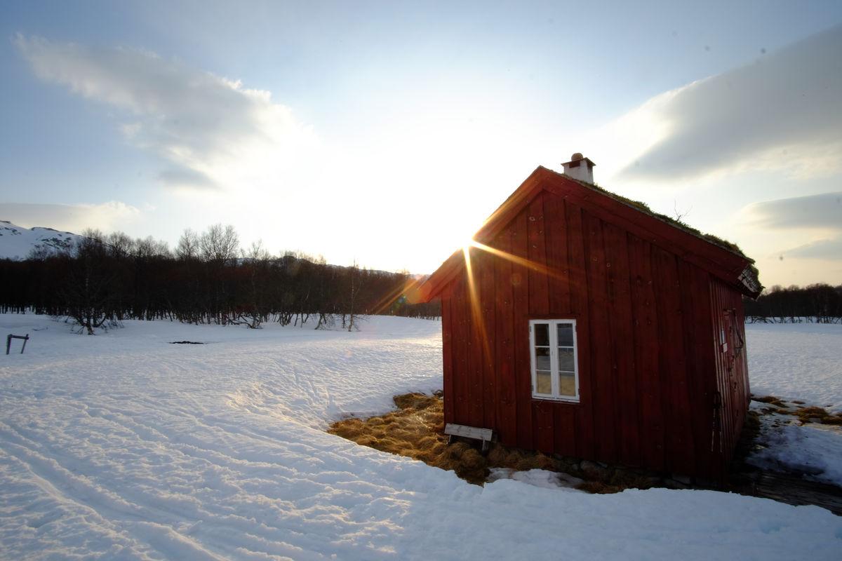 Bleskestadmoen vinter