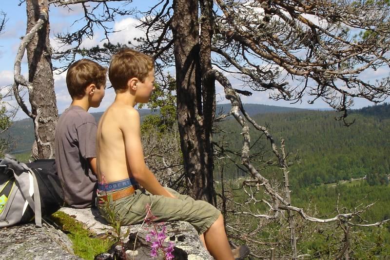 Utsikt fra Pershusfjellet. Foto: Thomas With DNT Oslo og Omegn