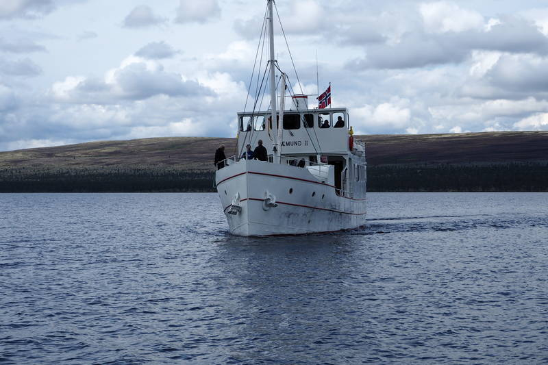 Med båt fra Svukuriset til Haugen