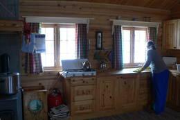 Kjøkkenet på Dalabu - Foto: Per Arve Kristiansen