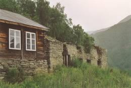 Bygninger før restaureringen - Foto: Helene Dahlman/DOT