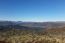 Utsikt fra Gissingerdalen -  Foto: Jenny Kristin Heggvold