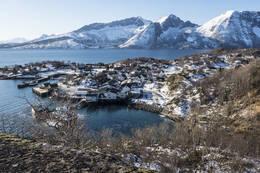 Vinterutsikt - Foto: Kjell Fredriksen