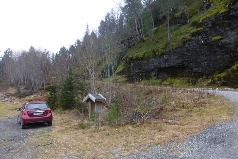 Utgangspunkt ved Vonlund (RV15)