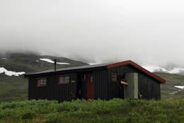 Dærtahytta i indre Troms  - Foto: Hanneke Luijting