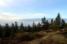 Utsikt fra toppen av Ruketuten - Foto: Tor-Erik Larsen