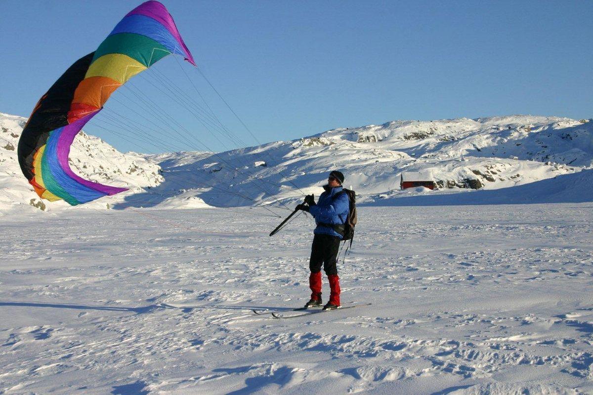 Skiseiling ved Sandvatn