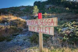 Start av turstien - Foto: Svein-Magne Tunli