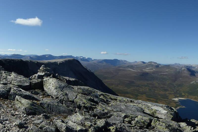 Panorama fra toppen av Okla