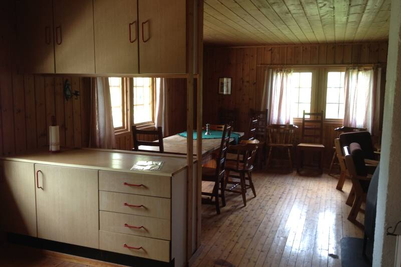 Kjøkken spiseplass Ulveholtet