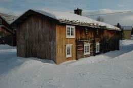 Vinter på Narjordet - Foto: Ukjent