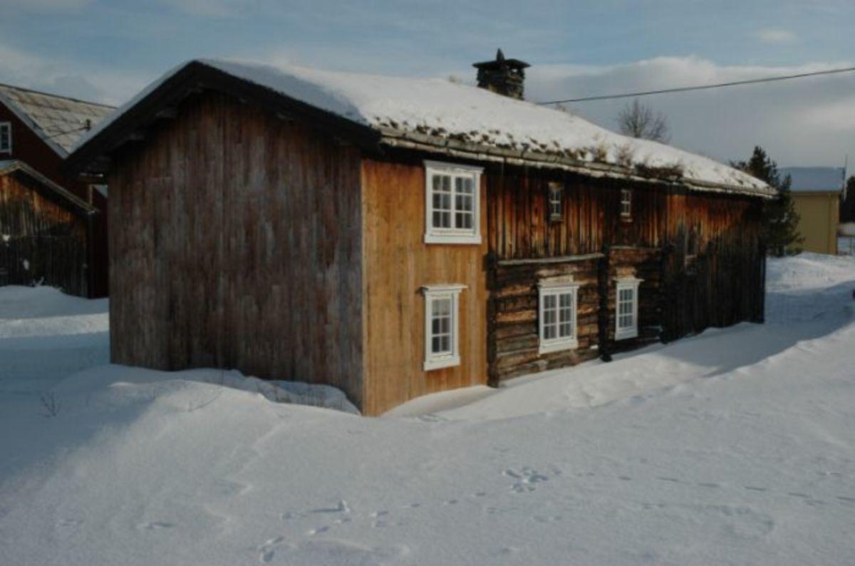 Vinter på Narjordet