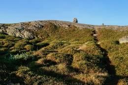 Varden på Grønefjellet 812 moh -  Foto: Jan Roar Sekkelsten