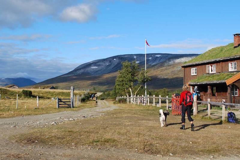 Turen srtarter fra Jøldalshytta.