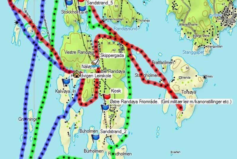 Her er padletur forslag fra Tømmerstø. Grønningen er kun 1 time unna i kajakk.